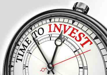 hand watch with writing on it:time to invest