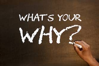 writing: what's your why?