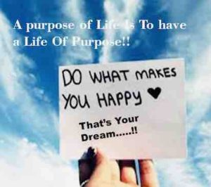 writing do what makes you happy, that's your dream