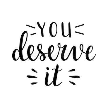 writing: you deserve it