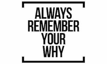 writing: always remember your why