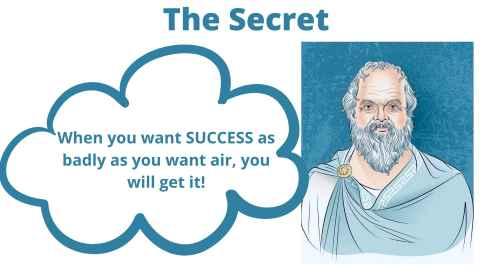 Cartoon of Socrates