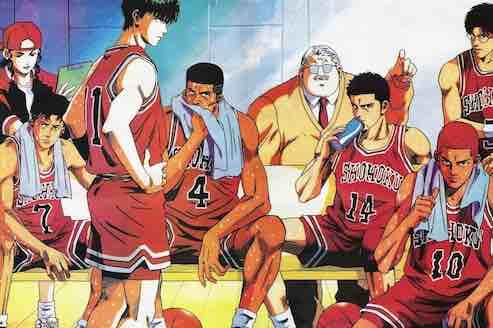 basketball team cartoon